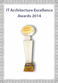 Победитель IT Architecture Excellence Awards 2014